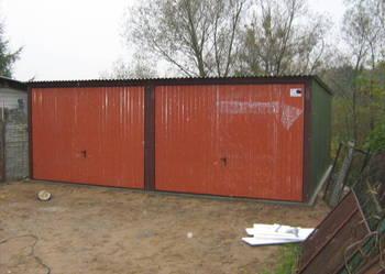 Garaż blaszany 6x5 / wiaty / kioski / garaże/garaz/hala