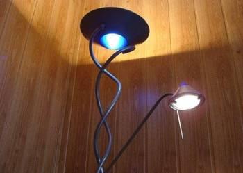 Lampa halogenowa podłogowa 180cm 2 punkty oświetlenia