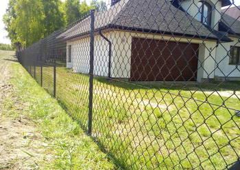 SIATKA OGRODZENIOWA z montażem ogrodzenie z siatki