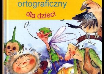 Bajkowy słownik ortograficzny dla dzieci NOWY TANIO