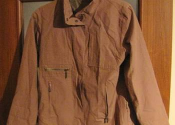 Beżowa jesienno/wiosenna kurtka wiatrówka CARRY-st.idealny.