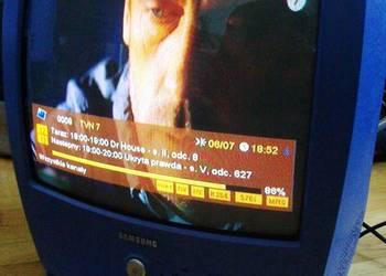 """Super TV  """"Samsung"""" model """"Episode"""" 14 cali z pilotem"""