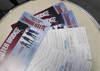 Sprzedam bilety na ALTER BRIDGE (16.11. Spodek) - 100zł