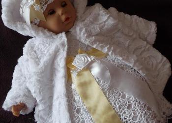 Komplet do chrztu dla dziewczynki Kamila- sukienki do chrztu