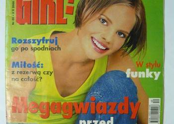 BRAVO GIRL 2000 NR 20 - PAŹDZIERNIK 05 + PLAKAT