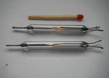 Kontaktron przełączny 45 mm zestyk kontaktronowy 3 piny