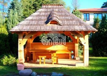 gontbud.pl altana ogrodowa grill, altanka wiata garaż gont na sprzedaż  Katowice