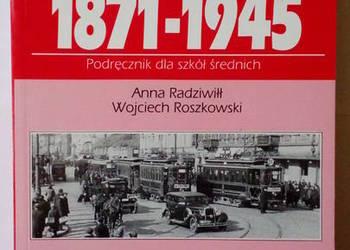 Historia 1871-1945
