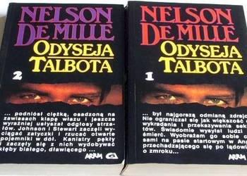 ODYSEJA TALBOTA Nelson de Mille 2 tomy /fa
