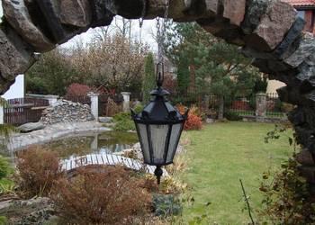 KLOSZ ŻELIWNY LAMPA LAMPION ŻYRANDOL OŚWIETLENIE