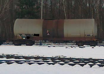 Zbiornik stalowy RSM  cysterna kolejowa 80m3