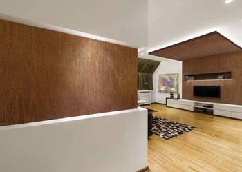 Płytki, formatki z blachy korten - efekt rdzy na ścianę