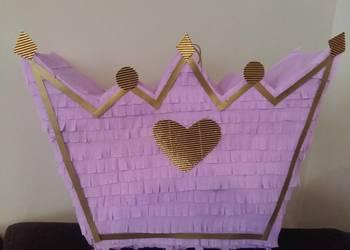 Piniata imię  korona pinata panieński xxl princess