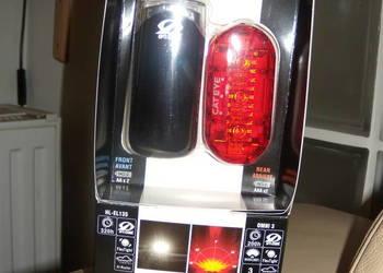 Zestaw lampek rowerowych HL-EL135+OMNI3