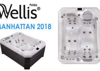 Wanna z hydromasażem spa jacuzzi Manhattan 2018