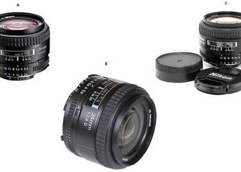 Nikon AF NIKKOR 24mm f/2.8D, Gwarancja 24m