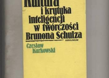 Kultura i krytyka inteligencji w twórczości Brunona Schulza