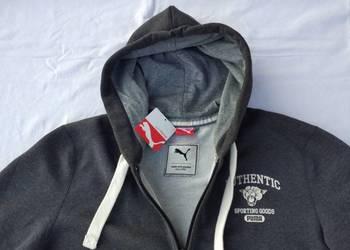 PUMA sportlifestyle bluza męska z kapturem zapinana L metka
