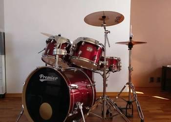 Sprzedam zestaw perkusyjny Premier Cabria - stan idealny !!!