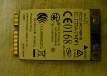 MODEM 3G, QUALCOMM, UNDO-1, Aero2 do laptopów HP 2530p 8530p