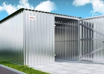 Garaż Blaszak Garaże blaszane   + ocynkowana konstrukcja