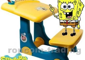 Zestaw SpongeBob Biurko Stół Krzesło Ławka Akcesoria