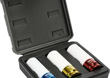 "Nasadki udarowe do felg aluminiowych 17,19,21 mm 1/2"" YATO"