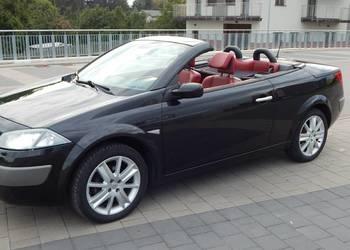 megane II coupe cabrio 1.6 16V bezwypadkowy zarejestrowany