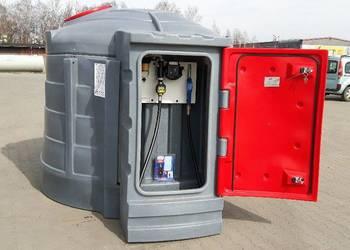 Zbiornik dwupłaszczowy na paliwo, olej napędowy (ON) 5000 L