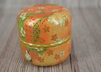 Japońska puszka na herbatę