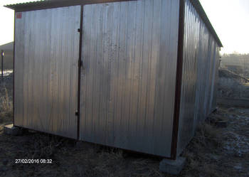 Garaz 3x5 1300zł z transportem i montażem
