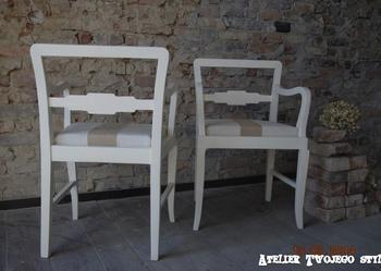 ***fotel,krzesło  shabby chic, vintage * dostępna 1 szt.