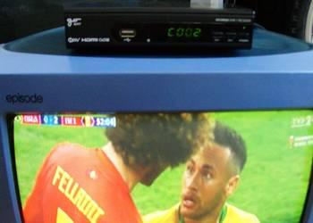 """Sprzedam dekoder DVB-T firmy """"GoSat"""" model GS100HD."""