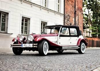 Zabytkowe samochody Retro auta Kabriolet do ślubu Wynajm aut