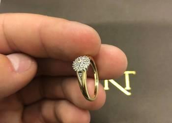 Pierścionek zaręczynowy - używany.
