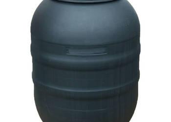 Beczka plastikowa z pokrywą zakręcaną 220L NOWA