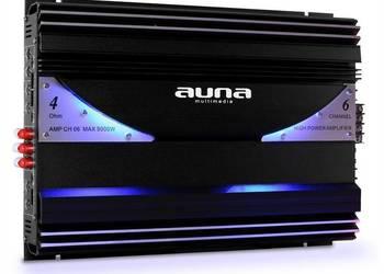 AUNA AMP-CH06 - WZMACNIACZ SAMOCHODOWY