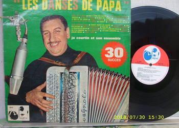Dance Lp ; JO COUTRIN--LES DANSES DE PAPA . France.