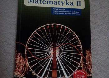 Matematyka II Podręcznik dla liceum i techn. zakres podst