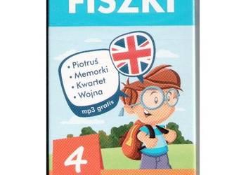 Fiszki angielski. 4 gry Kinga Perczyńska
