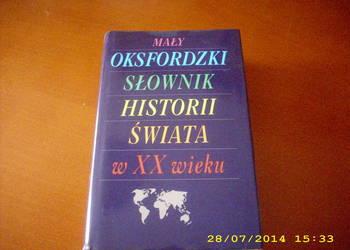 Mały Oksfordzki Słownik Historii Świata w XX w./fa