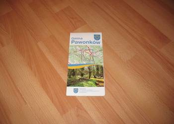 Gmina Pawonków – mapa