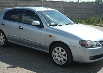SUPER sprawny Nissan Almera Hatchback 1.5dCi klima ABS, W-wa