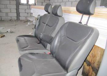 Vivaro Trafic Fotel Siedzenie Siedzenia Podłokietnik SKÓRA