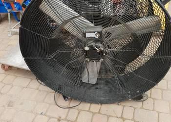 Wiatrak wentylator oddymiacz oczyszczacz powietrza nadmuch