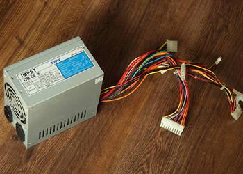 Sprawny zasilacz IMPET moc 300W do komputera