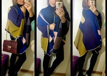 SALE SALE SALE!! Piękne eleganckie ponczo multicoloro