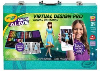 Crayola Virtual Design Pro Kredki Mazaki Pisaki Flamastry