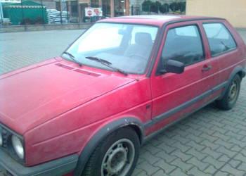VW GOLF MK2  1991 R.