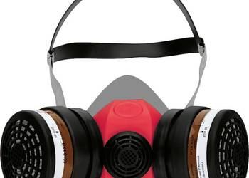 Maska lakiernicza przeciwpyłowa Climax 756-R + 2 filtry A1